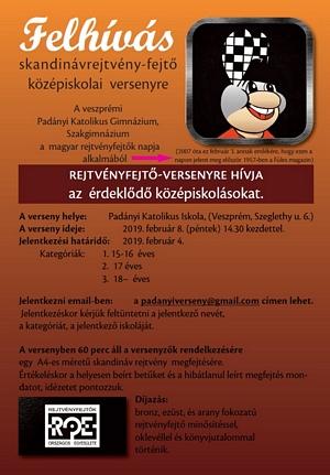 Felhívás skandinávrejtvény-fejtő versenyre! a8dffc9d70